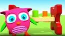 O novo brinquedo da HopHop, a Coruja. Desenho animado.
