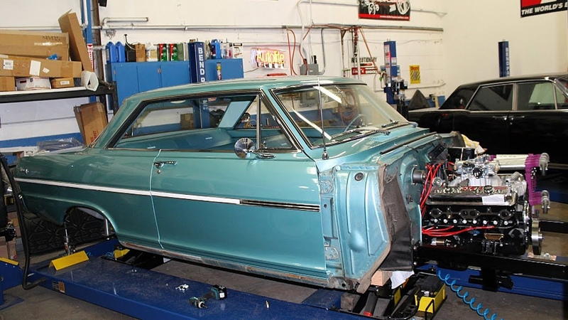 1963 Chevrolet Nova V8 Sleeper Build Project