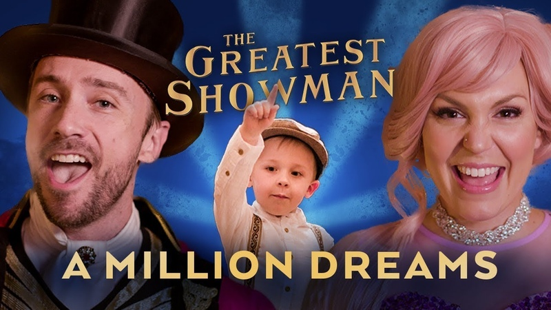 A Million Dreams Sung By 4 Year Old feat. Peter Hollens Evynne Hollens