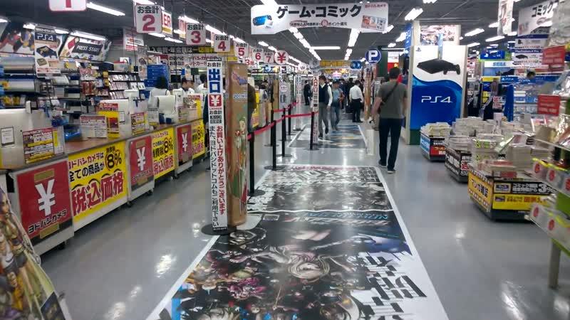Обычный магазин электроники для ЯПОНИИ! ИГРЫ КОМИКСЫ!