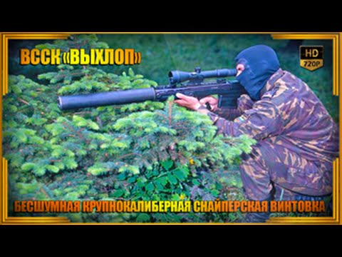 ВССК Выхлоп бесшумная крупнокалиберная снайперская винтовка