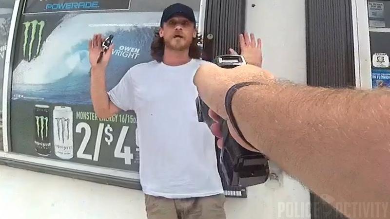 Bodycam Shows Police Use Taser on Casselberry Rape Suspect