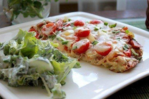 Готовим картофельную пиццу на yжин