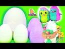 Surprise Eggs Яйца с Сюрпризом Hatchimals ЗАВТРАК ЭППЛДЖЕК И ЭППЛ БЛУМ! Мультик Май Литл Пони