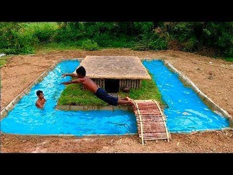 Строим бассейн голыми руками (примитивные технологии)