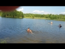 Оксана и Глеб купаются