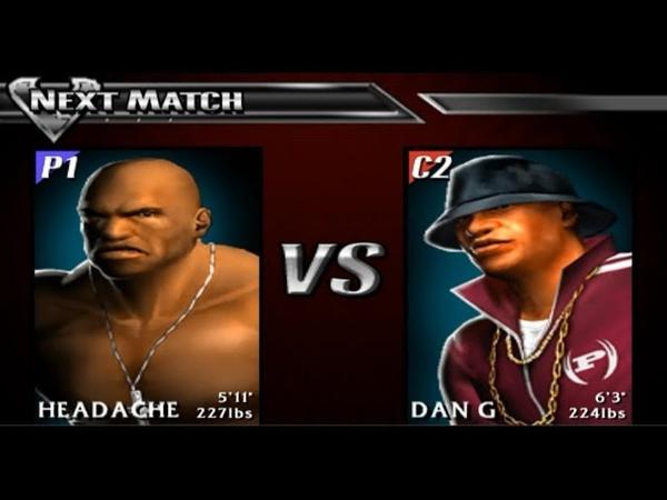 Def Jam Vendetta 34. Headache vs Dan G (Sanctuary League)
