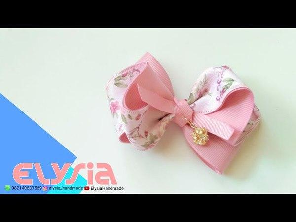 Laço Shabby 🎀 Shabby Ribbon Bow 🎀 DIY by Elysia Handmade