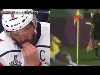 В чем разница между футболом и хоккеем