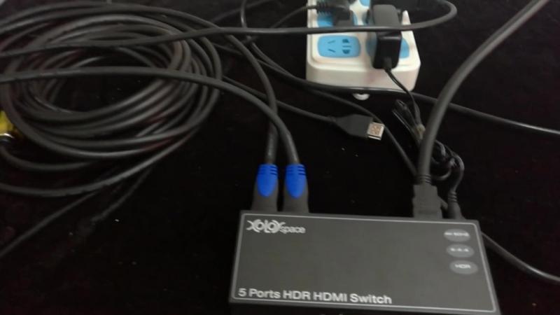 10 метров Кабель HDMI поддерживает 4K 60HZ HDR, подключенный к переключателю XOLORspace HDMI