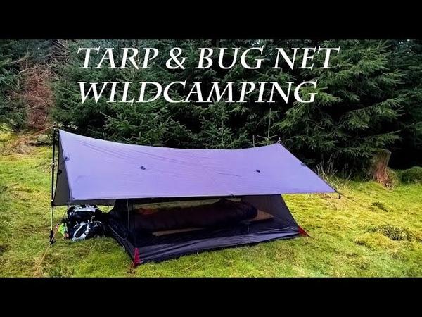 Wild Camping Woodland Tarp Bug Net (Re-edited due to music copyright)