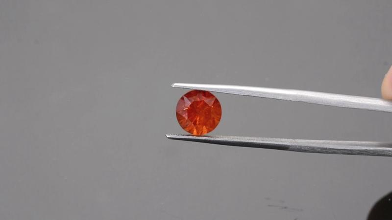 Deep Orange Spessartine Garnet Gemstone from KGC