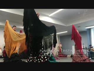 La caña / profesora luisa pallicio / fundacion flamenco cristina heeren