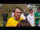 Estou botando o meu na reta por vocês Diz Bolsonaro horas antes de ser esfaqueado por petista no meio do povo