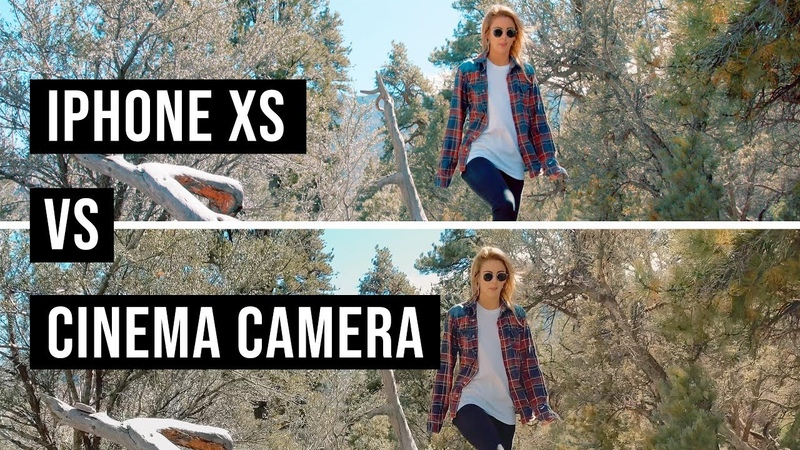 IPhone XS vs CINEMA Camera - Can you spot the DIFFERENCE?