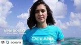 Nina Dobrev on Instagram #Repost @oceana
