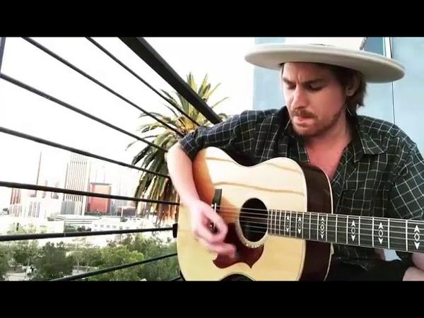 Walls Acoustic Guitar Cover (Skyscraper Movie) - Jamie N Commons IG Video account @jamiencommons