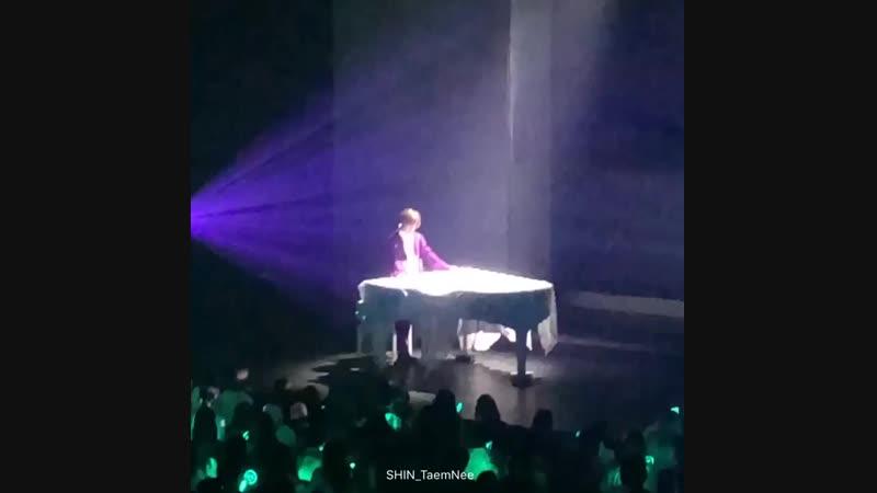 TAEMIN Japan 1st TOUR SIRIUS - - 태민 - Love Piano (1)