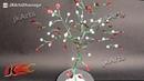 Wire Tree Tutorial using Nail Polish | JK Arts 442