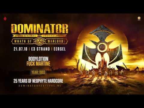 Neopthyte 25 years of hardcore   Dominator 2018