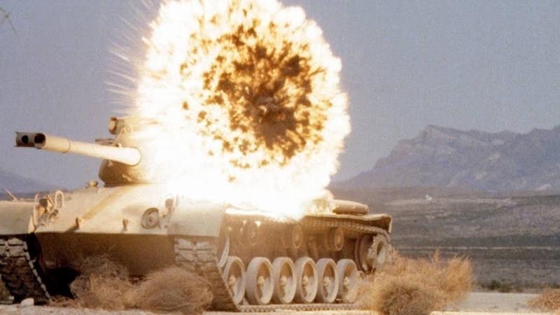 USAF's Ultimate Tank-buster TEST: CBU-105 [Cluster bomb] Sensor Fuzed Weapons in Action