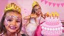 Las Ratitas son princesas en el cumpleaños de Claudia!!