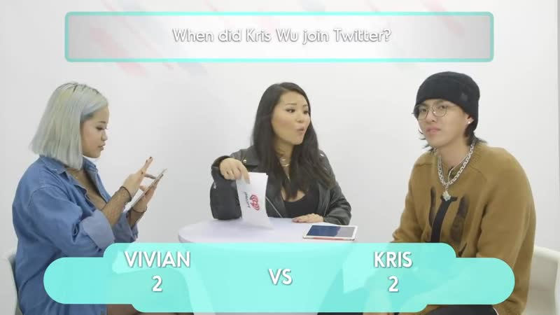 Kris Wu Challenges A Super Fan In A Trivia Battle _ Fan Vs. Artist Trivia