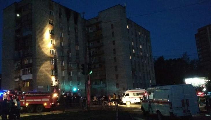СК возбудил дело по факту смерти 2 человек в пожаре на Черных в Томске