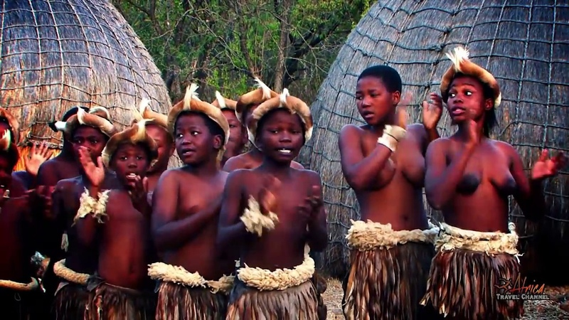 Beautiful Traditional African Zulu Dancing - Africa Travel Channel