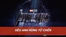 Tử chiến Siêu anh hùng Avengers 4 End Game và Lượng tử giới