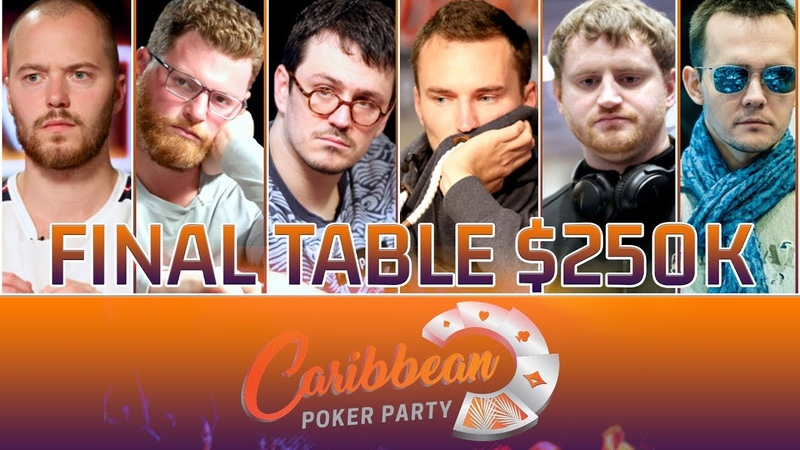 Highlights Final Table MILLIONS SHRS $250K Caribbean Poker Party