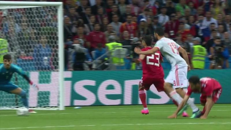 Irán 0 - España 1 : Ganó a toda Costa