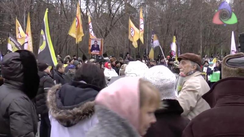 ШОК! СРОЧНО! Такого не покажут на ТВ Российский Офицер выступает на митинге прот