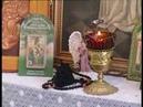 Монахиня Тихона пишет иконы ртом