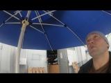 Зонт на корейский манипулятор для работы на солнцепёке, в дождь и снег