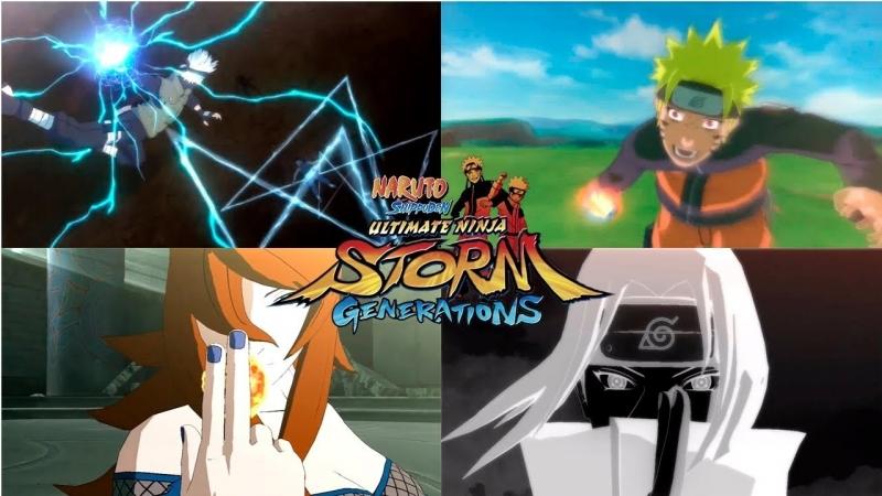 [Наруто Аниме XL] ВСЕ АБСОЛЮТНЫЕ ДЗЮЦУ ПЕРСОНАЖЕЙ | Naruto Shippuden: Ultimate Ninja Storm Generations