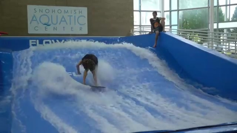 Финальный заезд Scott Callens на этапе FLOWTour в Snohomish Aquatic Center