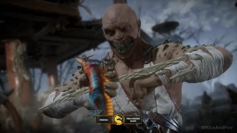 Геймплейное демо игры Mortal Kombat 11! Барака VS Скорпиона