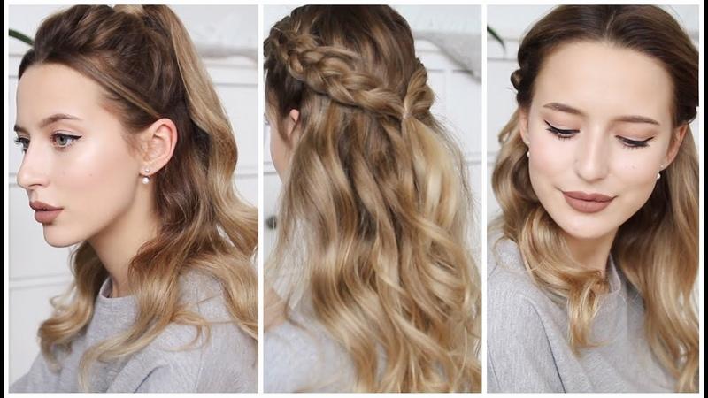 3 Простых Причёски за 2 минуты 💇