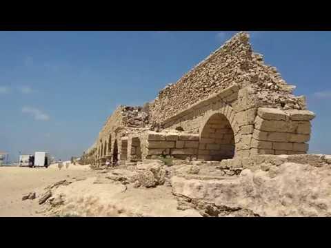 Кесария Палестинская. Древний порт, ипподром, амфитеатр