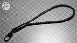 [Leather Craft] Making Wrist Strap / Braiding leather cord