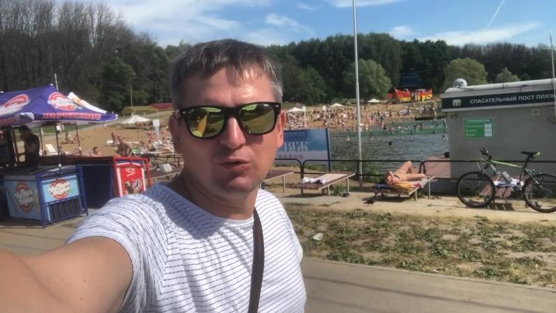 Тульский парк / ЦПКИО имени Белоусова / Лето Пляж цпкио тула пляж