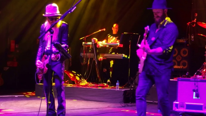 """Billy Gibbons and Supersonic Blues machine, LIVE """"Broken Heart"""
