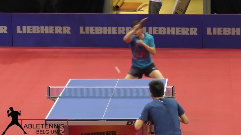 MA LONG TABLE TENNIS TRAINING with Chinese Team Member Lin GAOYUAN