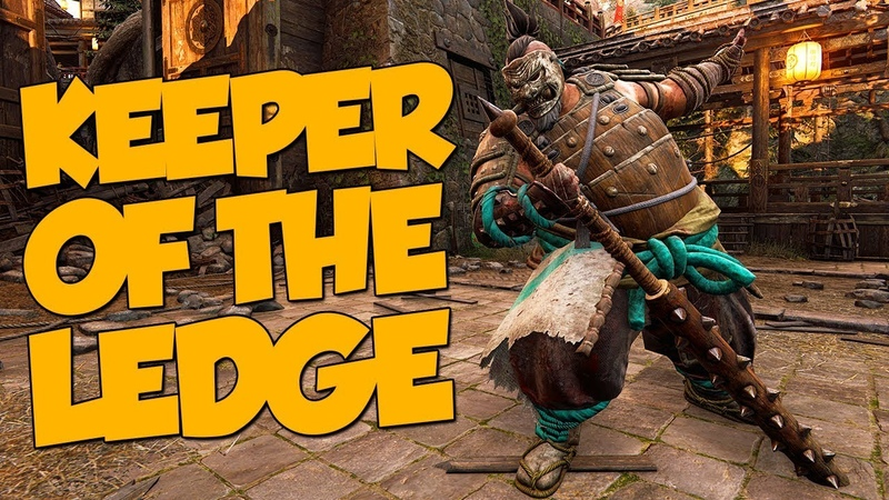 Keeper of the Ledge - For Honor Funny Moments