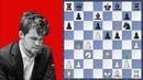 Magnus Carlsen tested in the Sveshnikov - Van Foreest vs Carlsen | Tata Steel Chess 2019