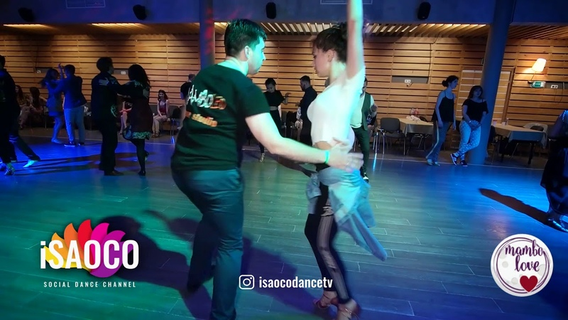 Aleksandr Maneev and Nataliya Chumakova Salsa Dancing in Mambolove, Saturday 09.06.2018