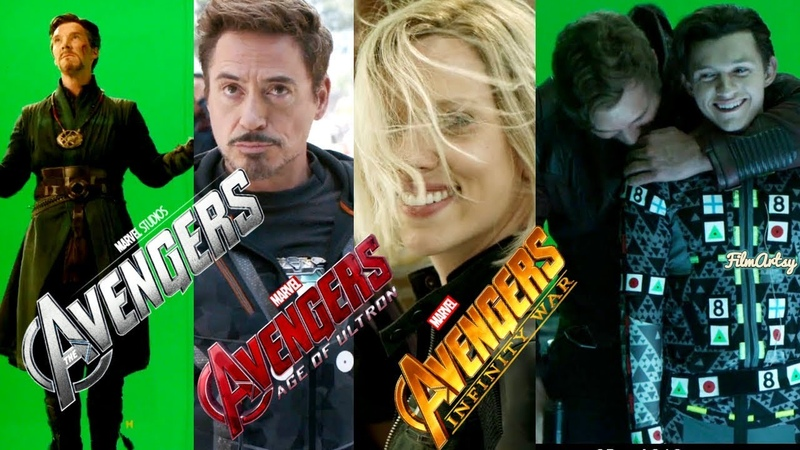 Avengers(1,2,3) Hilarious Bloopers and Gag Reel - All Avengers Outtakes 2018