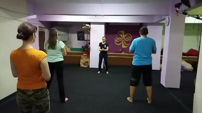 Утренний Цигун с Анной Хохловой. 12.08.18
