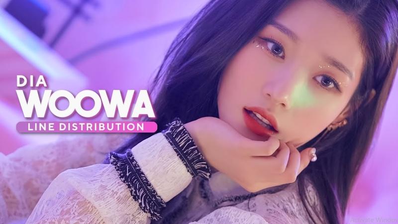 DIA (다이아) - Woowa (우와) Line Distribution